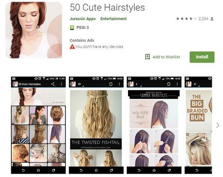 10 Best Hairstyle Apps For Android And Ios Paperblog