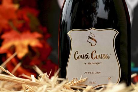 Comsi Comsa Apple Dry: NEW Dry Sparkling Apple Wine