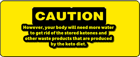 caution for keto diet