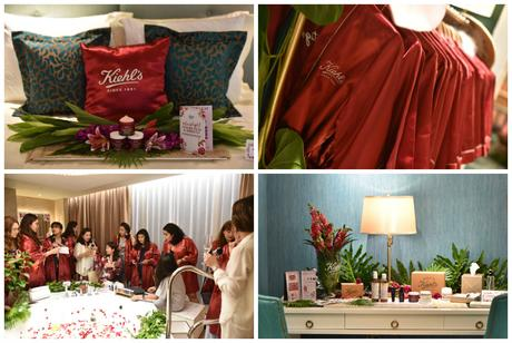 Lights off, Mask on: A night of indulgence with the new Kiehl's Ginger Leaf and Hibiscus Mask