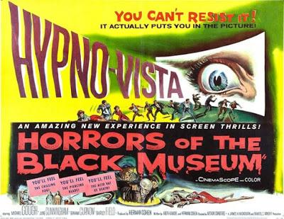 favorite movie #81 - halloween edition: horrors of the black museum