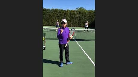 Tired Of Getting Nailed At The Net On The Return Of Serve? [VIDEO TIP]