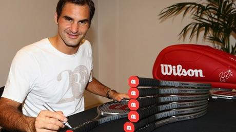 Wilson Honors Roger Federer's Remarkable Achievement With Special 20th Grand Slam Platinum Edition Racket Package