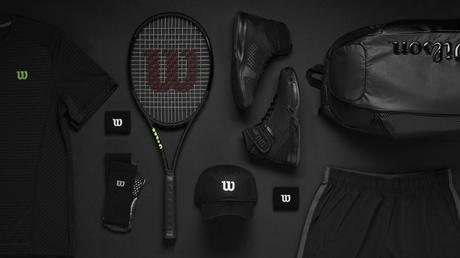 "Wilson Announces That ""Black Is The New Black"" With Their BLACK EDITION Tennis Rackets And Apparel"