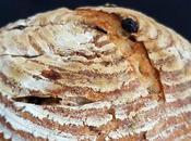 Walnut Raisin Multigrain Sourdough Bread (Same Day)