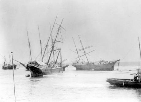 Hurricane Michael Uncovers Wreckage of 120 Year Old Ships