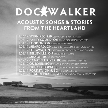 Get Back On My Horse: Doc Walker Interview & 5 Quick Questions
