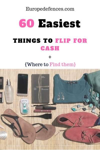 60 Easiest Things to Flip for Cash and Where to Find Them