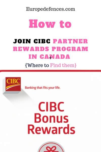 How to Join Cibc Partner Rewards Program in Canada