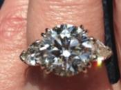 Stone Engagement Ring Upgrade