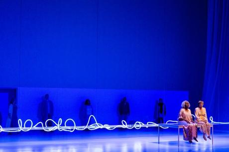 the ravages of Alzheimers conveyed through set design