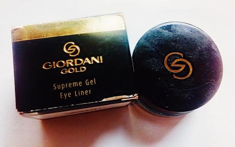 *New Launch* Oriflame Giordani Gold Gel Eyeliner Review
