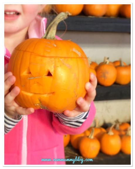 My week – Chicken pox, pumpkins, parks and half term
