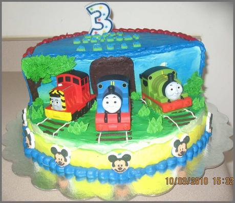 78 Wonderfully Stocks Of Thomas the Train Birthday Cake