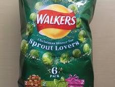 Walkers Brussels Sprout Crisps Review