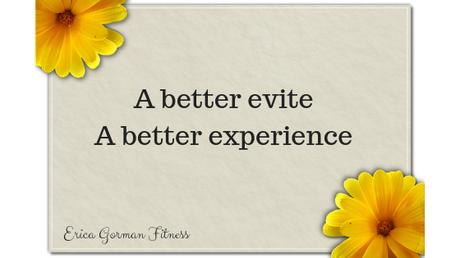 A better evite - A better experience