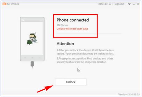 How to Unlock BootLoader Of Xiaomi Phones Using Mi Flash