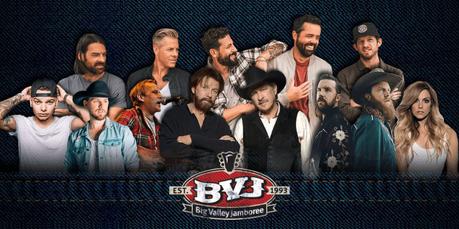 Big Valley Jamboree 2019 Announces 10 Artists