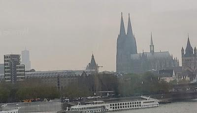 Grand Circle River Tour 3:  Köln [Cologne]  [Sky Watch Friday]