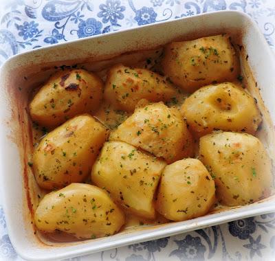 Oven Braised Potatoes