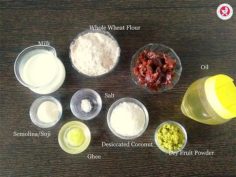 How to make Dry fruit gujiya