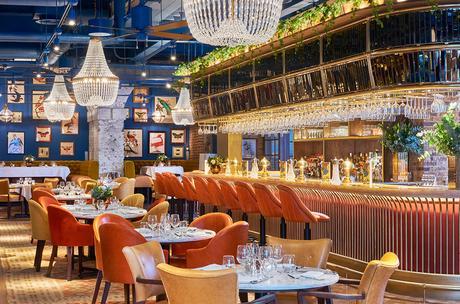 Granary Square Brasserie- Inspiring London Restaurant Decor