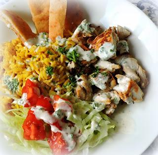Street Cart Chicken & Rice