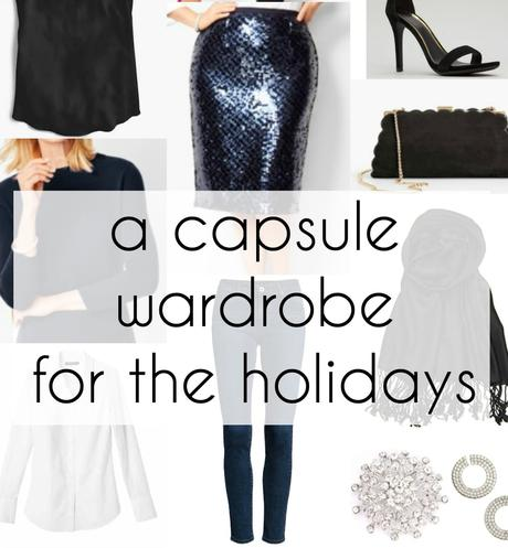 A Real Life Holiday Capsule Wardrobe