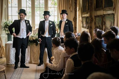 Maunsel House wedding groomsmen
