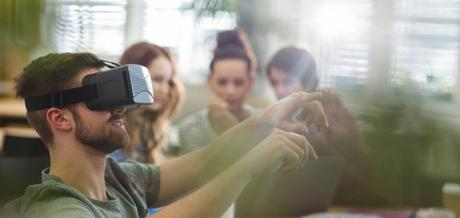 Ways how VR is used in business events