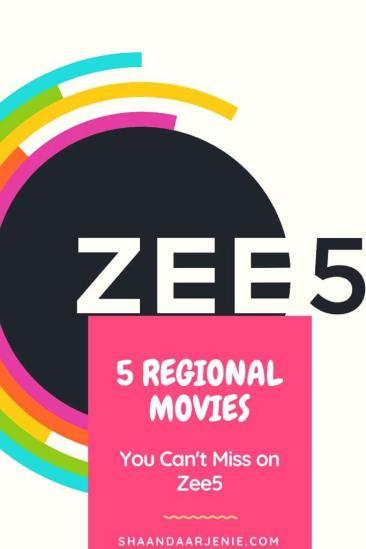 5 Regional Language Movies You Can't Miss, To Watch On ZEE5 - Paperblog