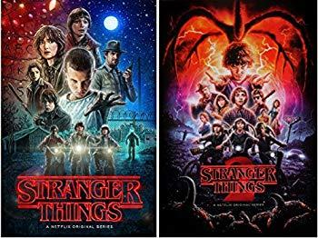 Image: Stranger Things Posters Season 1 | Two Posters Set | Authentic Licensed Posters | Size Each 24x36