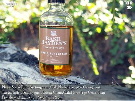 Basil Hayden's Two By Two Rye Review