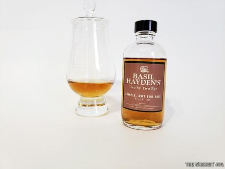 Basil Hayden's Two By Two Rye is a young tasting light whiskey with an overall sweet nature that turns a little soapy on the finish.