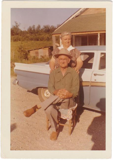 Grandpa and Grandma Keylon - a legacy of voting