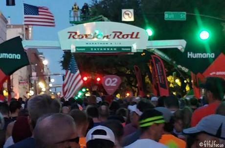 Rock'n'Roll Savannah Half Marathon Race Recap
