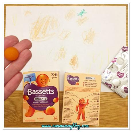 Bassetts Vitamins Omega-3 + Multivitamins Orange Flavour Pastilles review and taste test!