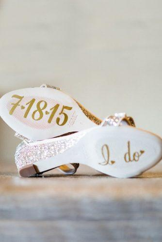 wedding shoe ideas decals on the soles marianne wiest photography