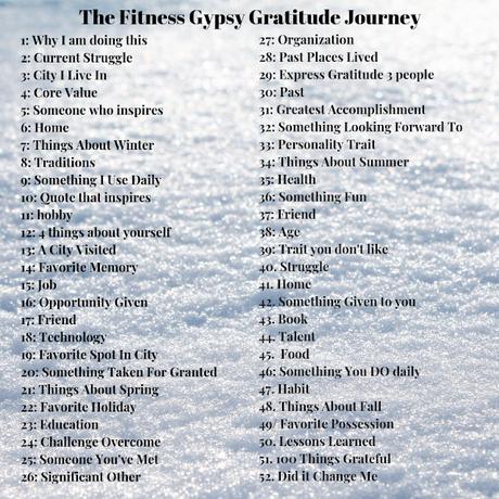 Gratitude Journey - Week 2 - Current Struggle