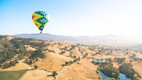 napa valley hills hot air balloon remodeling a bathroom in california