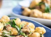 Easy Gnocchi Recipe with Chorizo Creamy Spinach