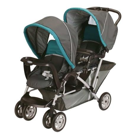 Graco DuoGlider Classic Connect Stroller, Dragonfly - best side by side stroller for infant and toddler