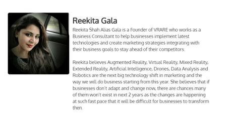 Interview With Reekita Gala | Founder Of Virtual Marketing Revolution (VMR)
