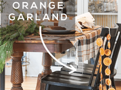Make Dried Orange Garland