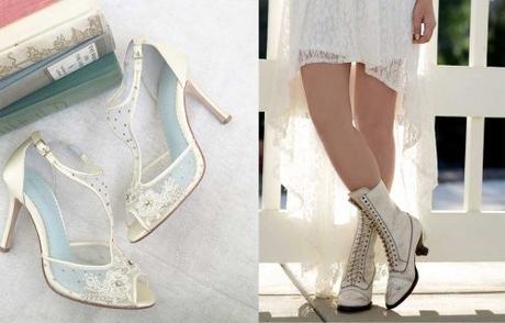 Vintage Style Bridal Shoes