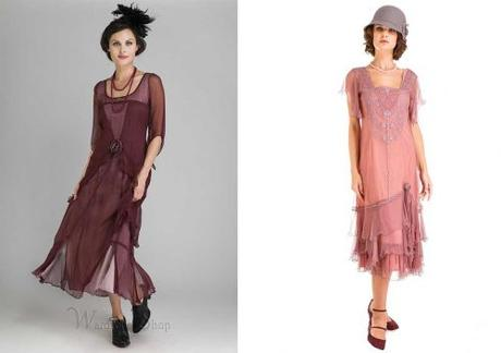 Vintage 1920s Gatsby Style Bridesmaid Dresses
