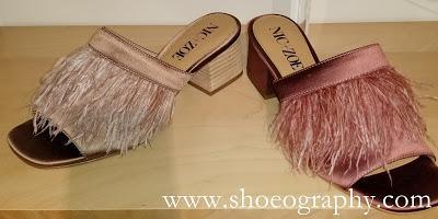Shoe of the Day | Nic + Zoe Zendaya Feather Slides