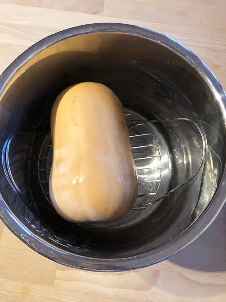 Instant Pot Whole Butternut Squash - make peeling easier!
