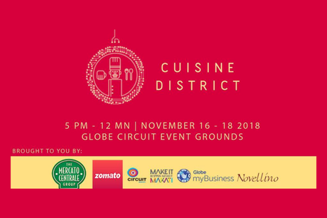 CUISINE DISTRICT at A Circuit Holiday Night Market