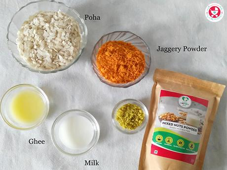 How to make Mixed Nuts and Poha Ladoo?
